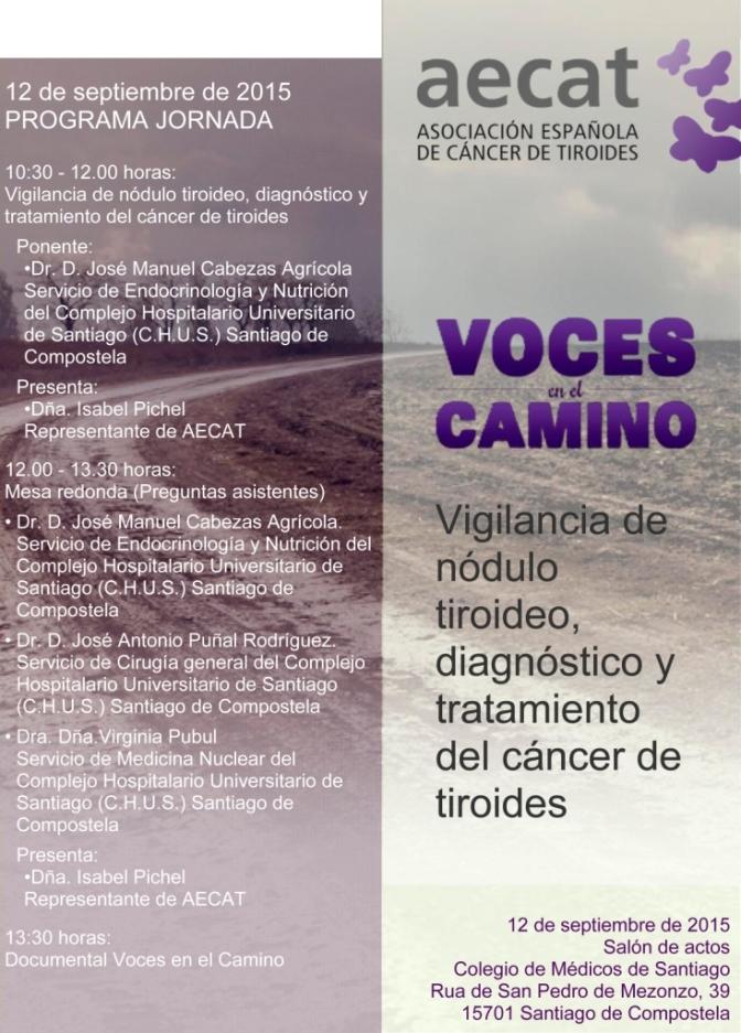 12 DE SETEMBRO. RELATORIO E MESA REDONDA SOBRE TRATAMENTO DE CANCRO DE TIROIDE